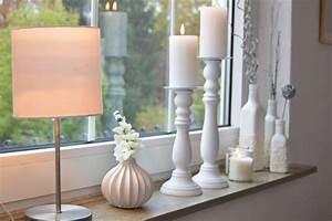 Fensterbank Dekorieren Wohnzimmer : sch ne aussichten fensterdekoration ohne gardinen ~ Markanthonyermac.com Haus und Dekorationen