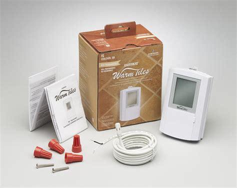 warm tiles manual dual voltage 120v 240v floor warming thermostat at menards 174