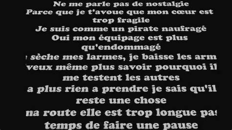 black m sur ma route paroles lyrics