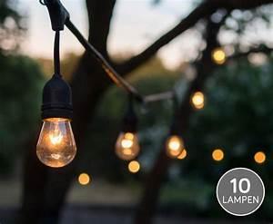 Werden Led Lampen Warm : verlichtingssnoer voor buiten met 10 mooie warm wit led lampen dagelijkse topaanbiedingen ~ Markanthonyermac.com Haus und Dekorationen