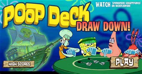 deck draw encyclopedia spongebobia the spongebob squarepants wiki