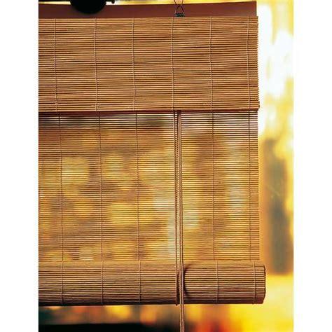 roll up bambou caramel h 180 cm castorama portes coulissantes verri 232 re fen 234 tre store