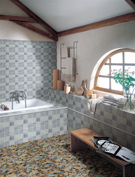 Mosaic Bathroom Floor Houses Flooring Picture Ideas  Blogule