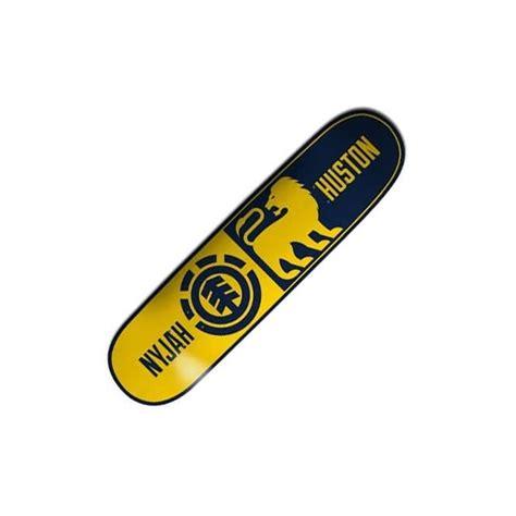 element skateboards nyjah huston division skateboard deck