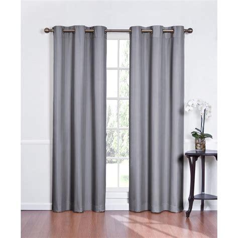 trendy light grey grommet curtain design idea for living
