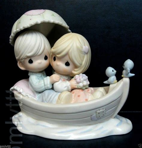 Dream Boat Limited by T Precious Moments Large Limited Edition Love Dream Boat