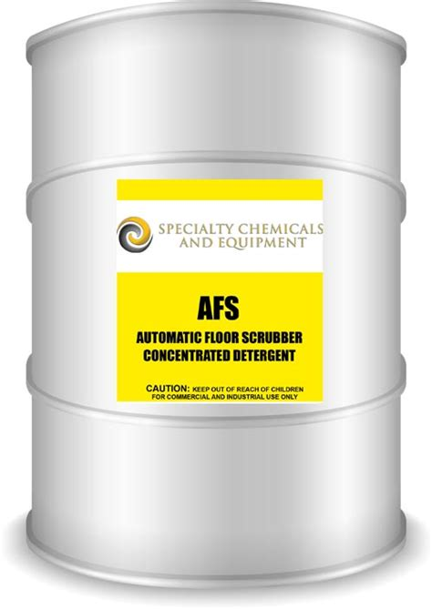 afs automatic floor scrubber concentrated detergent
