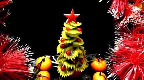 Kiwi Christmas Tree-kiwi Carving & Fruit Garnish-kiwi