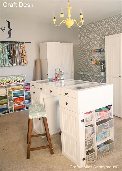 Craftaholics Anonymous®  Huge List Of Craft Rooms