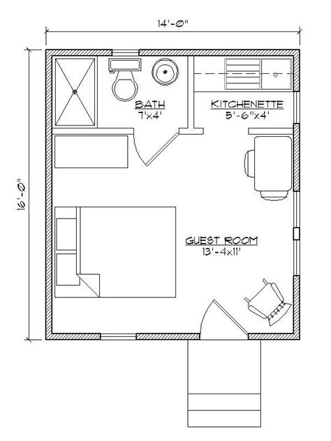 15 must see cottage house plans pins small home plans floor plans for a small guest house tiny guest house floor
