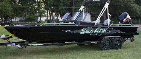 Seaark Boats Any Good by Aluminum Boat Builders In Arkansas