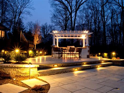 Outdoor Lighting : Best Patio, Garden, And Landscape Lighting Ideas For 2014