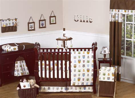 owl crib bedding collection
