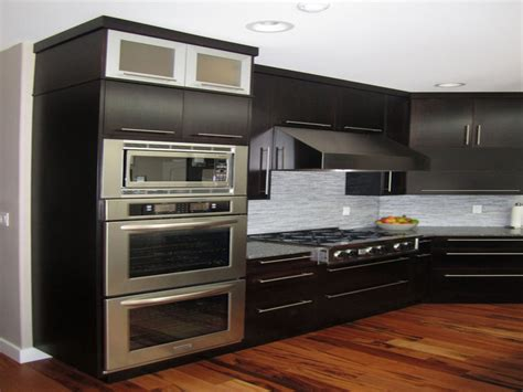 Apartment kitchen remodel, vintage double wall ovens