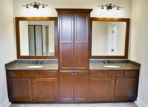 sink vanities with storage towers bathroom vanity