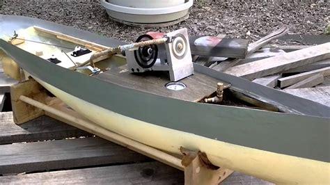 Model Steam Boat Youtube by Verburg Turbine In Model Steam Boat Youtube