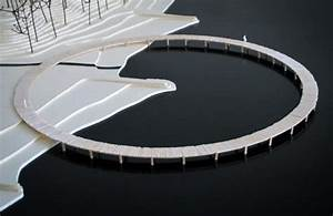 Circular Infinite Bridge provides panoramic views in ...