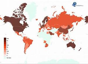 map of the world | Maps International Blog