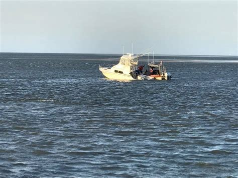 Boat Salvage Wilmington North Carolina by Photos Available Coast Guard Rescues 6 From Vessel Taking