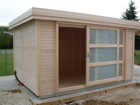 chalet de jardin en bois moderne cabanes and co