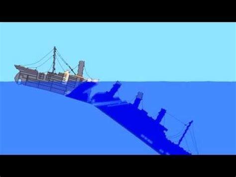 titanic sinking simulation in roblox doovi