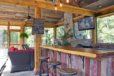Outdoors Bar : 51 Creative Outdoor Bar Ideas And Designs