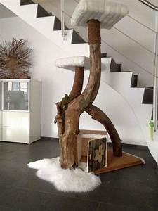 Kratzbaum Echter Baum : die 25 besten ideen zu katzenkratzbaum auf pinterest kratzbaum diy katzenbett und ~ Markanthonyermac.com Haus und Dekorationen