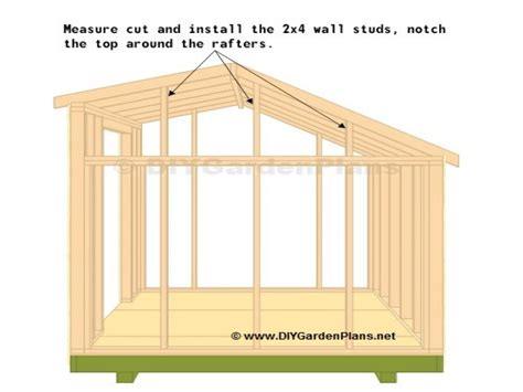 saltbox shed truss plans storage shed plans 10x12 saltbox