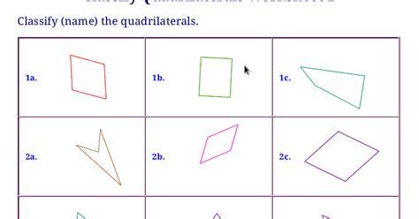 All Worksheets » Classifying Quadrilaterals Worksheets  Printable Worksheets Guide For Children