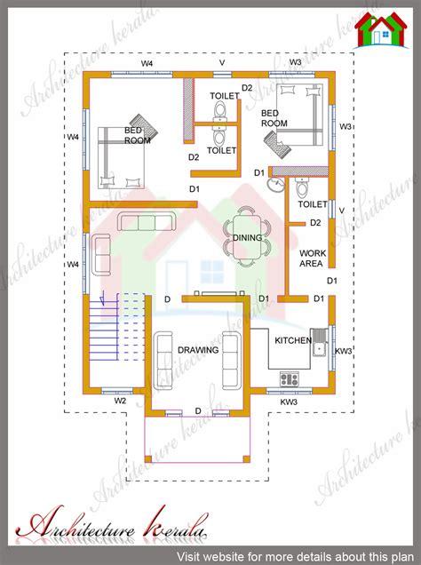 4 Bhk Kerala House In 1700 Square Feet  Architecture Kerala