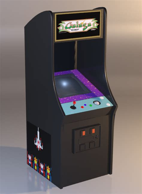 galaga arcade machine by warriorunknown on deviantart