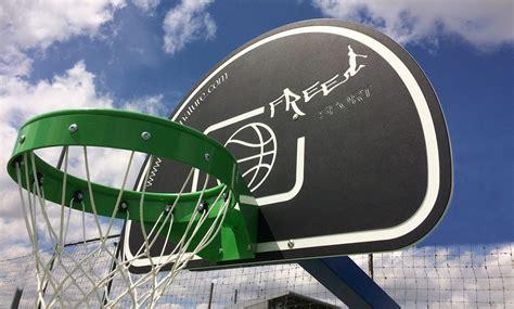 panneau de basket pour terrains multisports ext 233 rieur