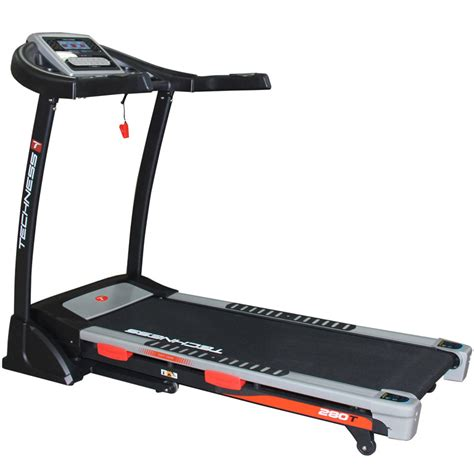 techness t280 mp3 tapis de course tool fitness
