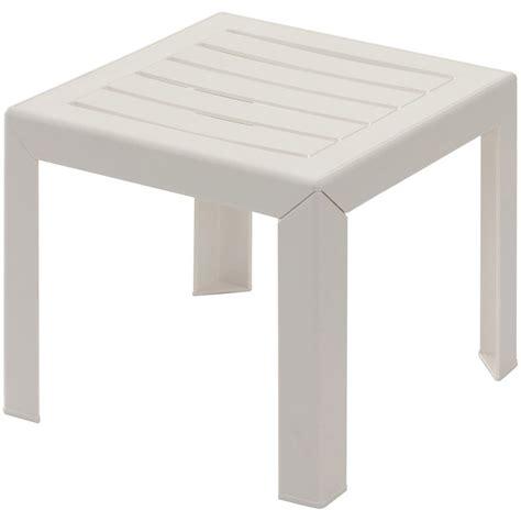 table basse grosfillex miami carr 233 e blanc leroy merlin