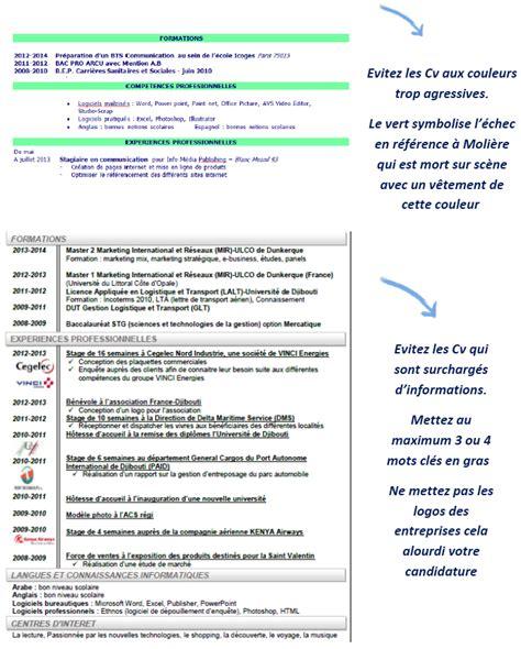passeport pour l emploi conseils cv direct emploi