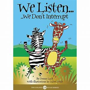 Golden Rules Animal Stories: We Listen - Jenny Mosley's ...