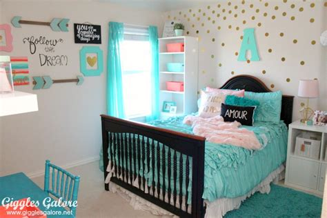 Tween Girls Bedroom Makeover Pool Table Combo Wood C Block Coffee Crate And Barrel Bedside Small Portable Dining Centerpieces Ideas Mirrors Olhausen