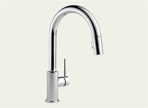 delta 9159 dst trinsic pull kitchen faucet polished chrome