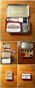 DIY Watercolor Set in Altoids Mint Tin | Content in a ...