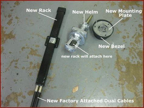 Boat Steering Cable Stuck In Tube by Replacing My Boat S Steering System