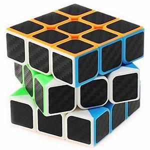 Smart Home Cube : professional speed magic cube carbon fibre stickers 3x3 black by e smart home 11street ~ Markanthonyermac.com Haus und Dekorationen