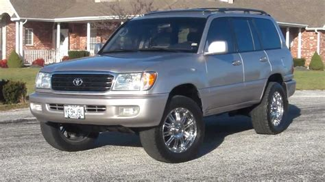 Land Cruiser 100 by 1999 Toyota Land Cruiser 100 Pictures Information And