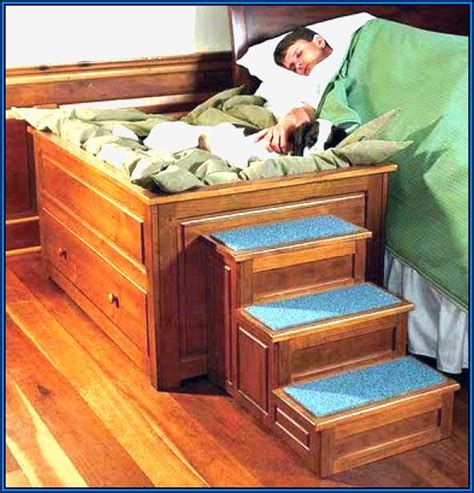 Pet Stairs For Beds by How To Build Steps For Your Stairs For Bed