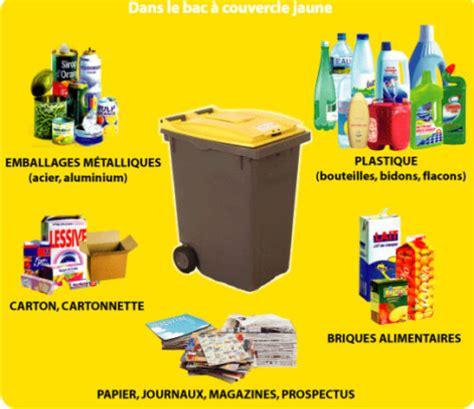 poubelle jaune que peut on recycler le de la clcv du val d oise