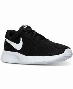 Nike Women's Tanjun Casual Sneakers from Finish Line ...