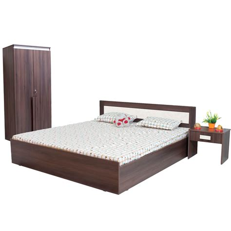 furnitech king size without storage bedroom