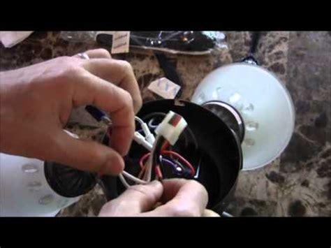 how to fix a flickering or blinking ceiling fan light