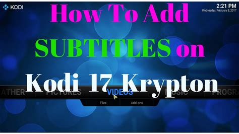How To Add Subtitles To Kodi  Youtube. Flexible Flat Cable Connector. Web Design Company Reviews Web Design Advice. Electronic Repair Business Www Locksmith Com. Celebrate Recovery San Antonio. Brownstone Property Management. Remodeling Contractors Seattle. Electronic Schools Online Dry Eye Irritation. Part Time Cosmetology School