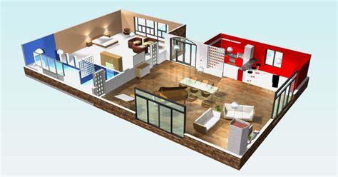 plan de maison moderne 3 chambres 3d maison moderne