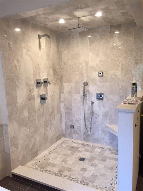 meram blanc carrara marble designed by sharrie mueller installation by neighborhood remodelers